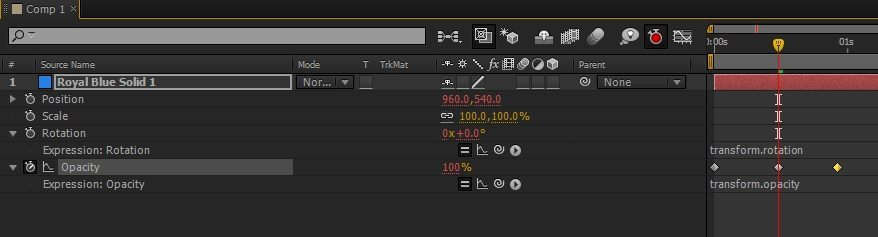 Expressions in After Effects