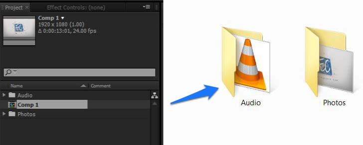 Backup After Effects Projects