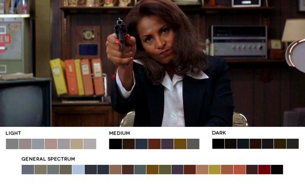 Color Palettes of jackie-brown