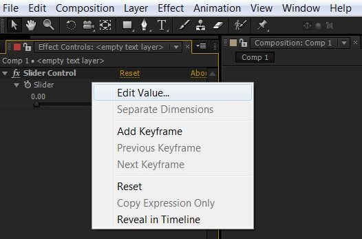 Create Percentage Counter in After Effects 1