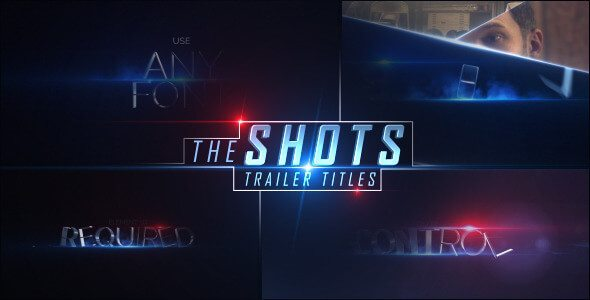 The Shots - After Effects Intro & Title Templates
