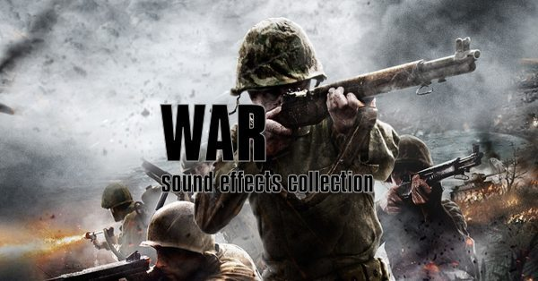 war sound effects cover