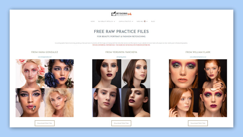 The Retouching Academy Lab
