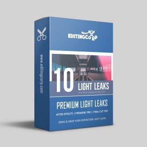10 light leaks for after effects, premiere pro