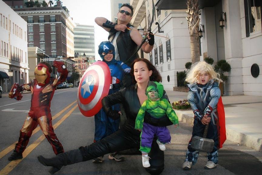 The avengers family