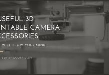 11 Useful 3D Printable Camera Accessories