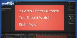 20 after effects tutorials