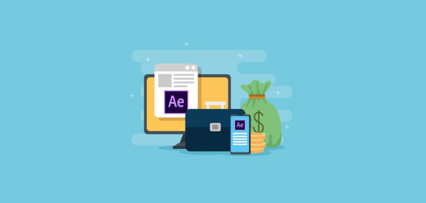 earn money with after effects