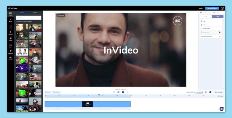 invideo online editor