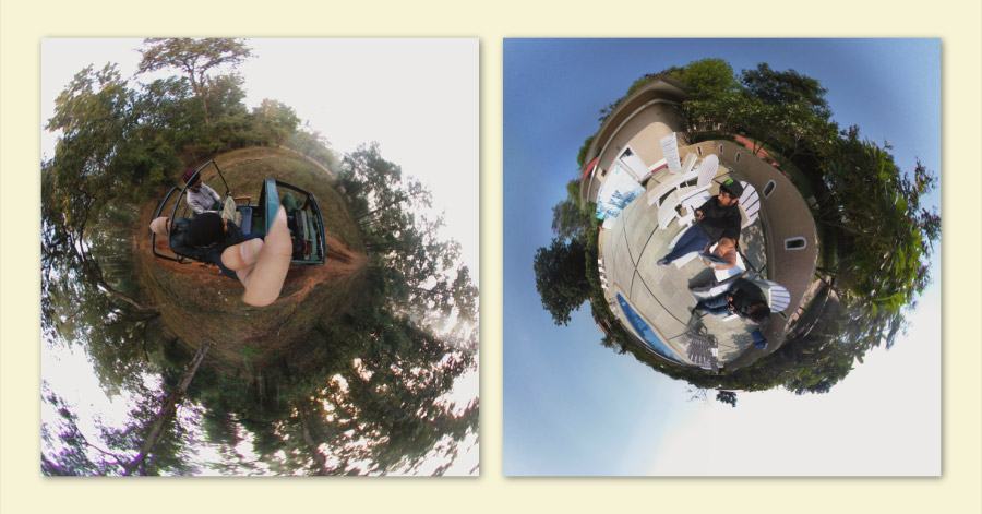 tiny planet photos