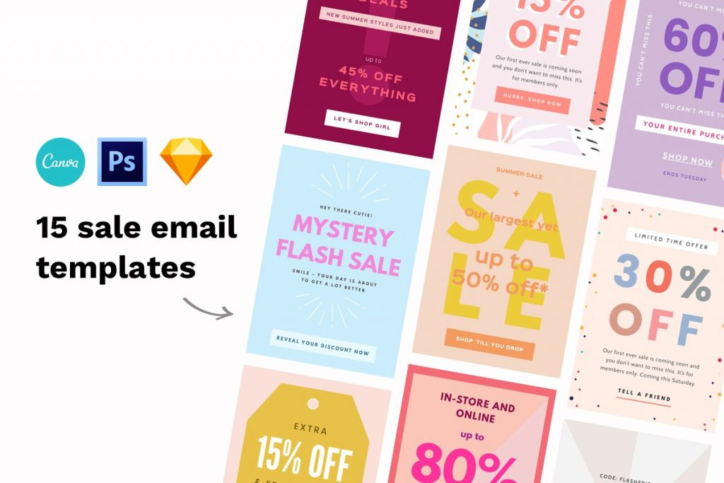 sale email templates