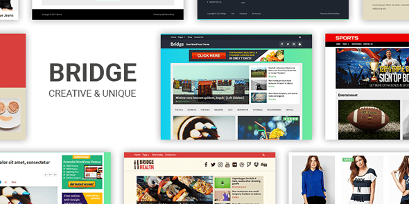 Bridge free wordpress themes mythemeshop