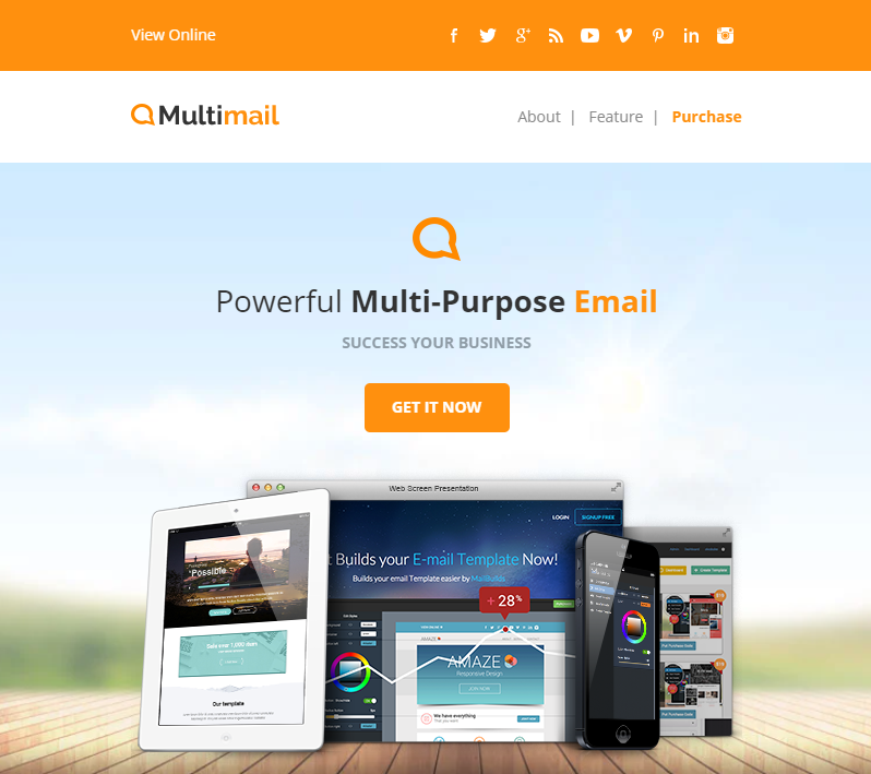 Multimail Email Templates Set