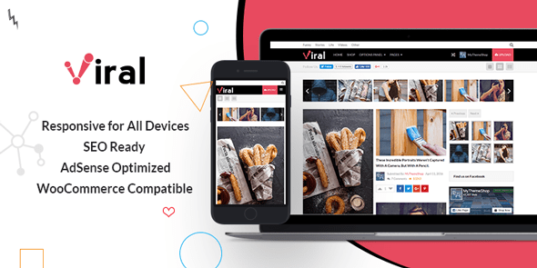 Viral free wordpress themes mythemeshop