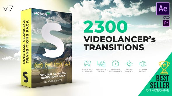 2300 After Effects Transitions Pack