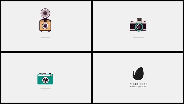 Photographer Logo Templates For After Effects