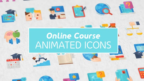 online course icons