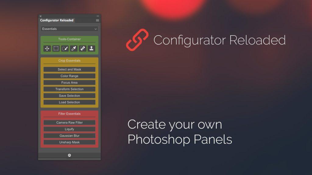 Configurator reloaded photoshop plugins