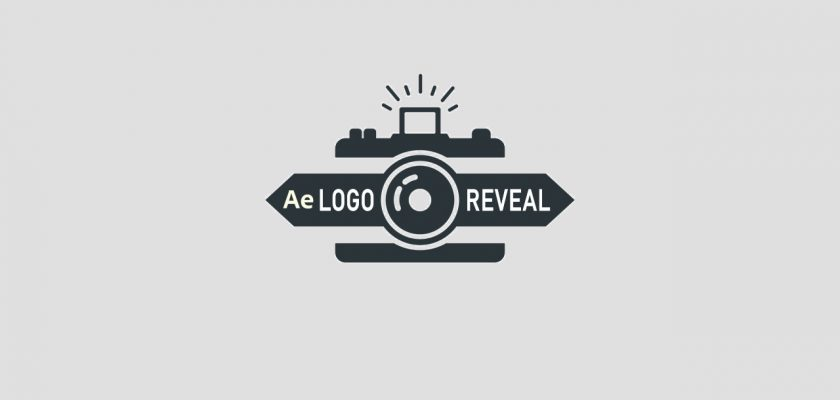 Photographer Logo Reveal After Effects template