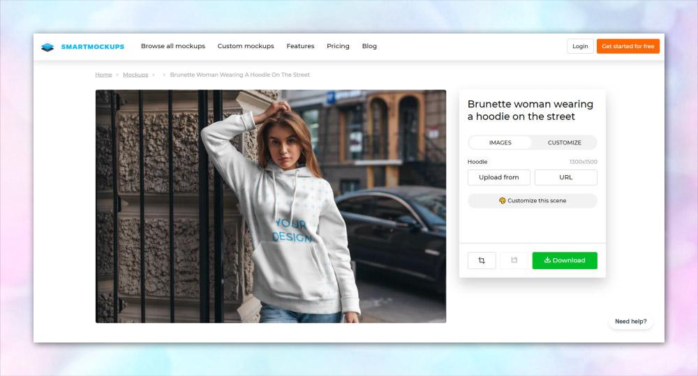 smartmockups Online Mockup Generator