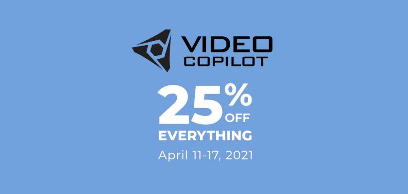 VideoCopilot Spring Sale