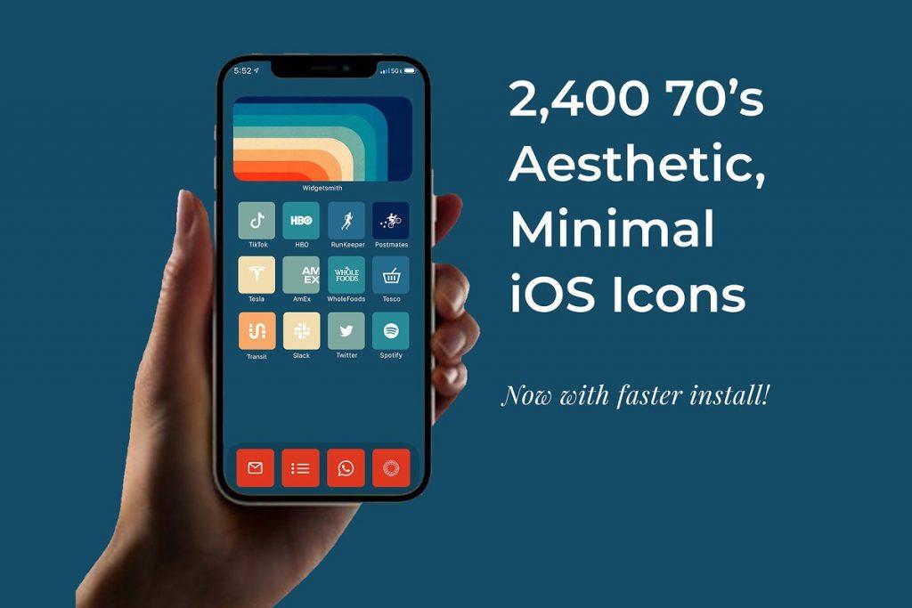 2,400 iOS 14 Icons