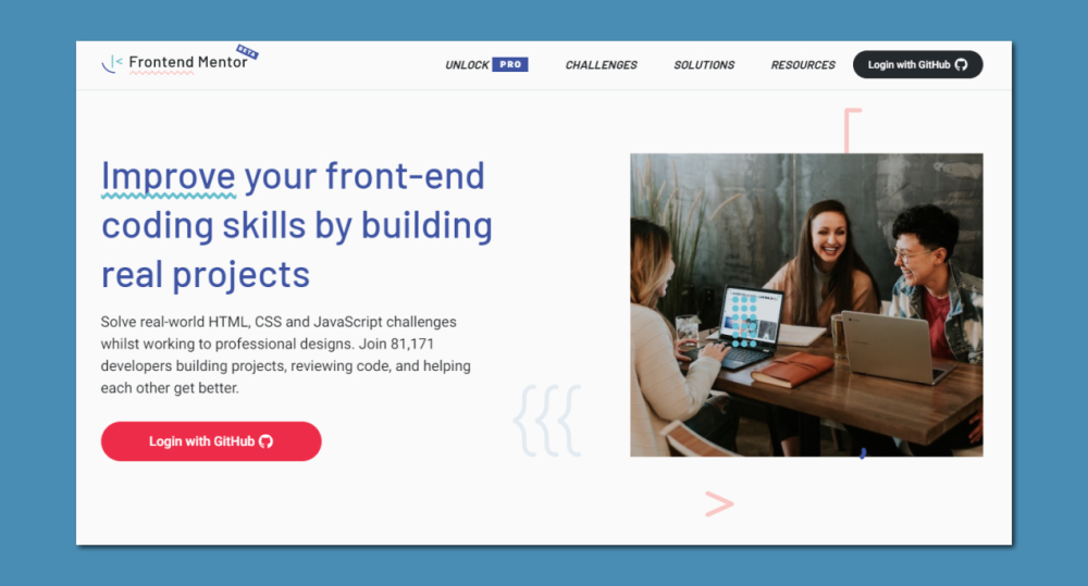 Front-end Mentor - Learn Web Development Through Projects