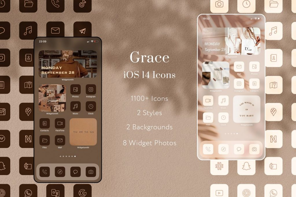 Grace iOS 14 Icon Pack