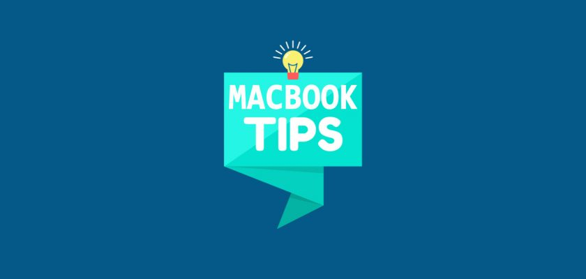 Macbook tips new users