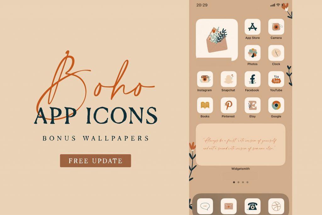 Boho App Icons