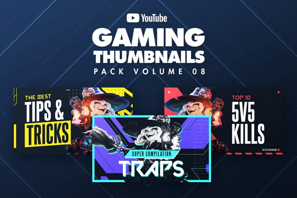 Gaming YouTube Thumbnails
