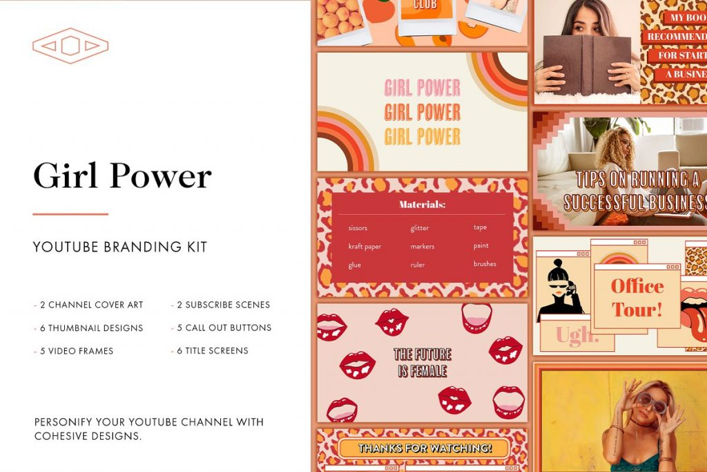 Girl Power Branding Kit