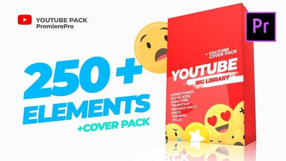 YouTube Cover Pack - youtube design assets