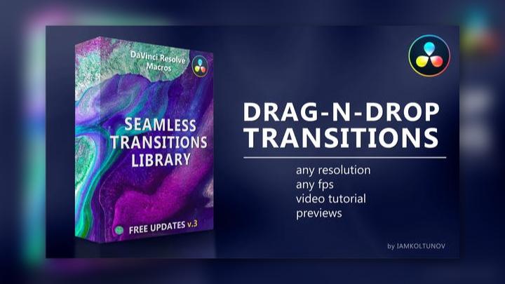 Seamless Transitions DaVinci Resolve