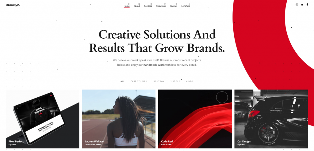Brooklyn - Premium WordPress Themes of 2021