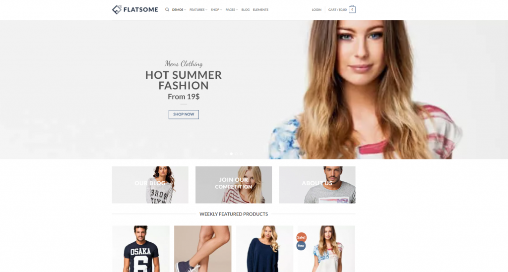 flatsome - Premium WordPress Themes of 2021
