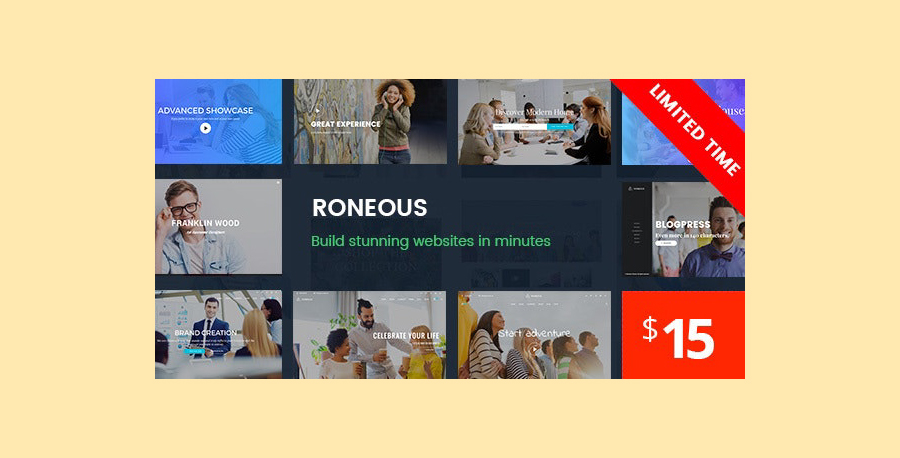 Roneous - Premium WordPress Themes of 2021