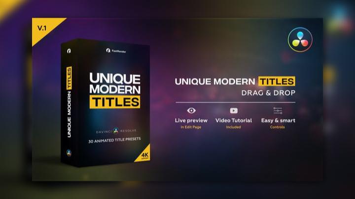 Unique Modern Titles