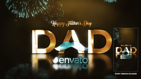 Father's Day Opener  - Father's Day After Effects Templates