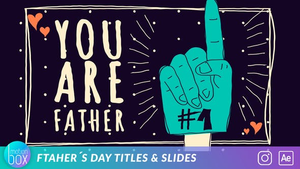 Father's Day Titles Slide
