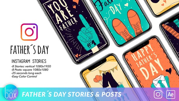 Father's Day Stories & Post