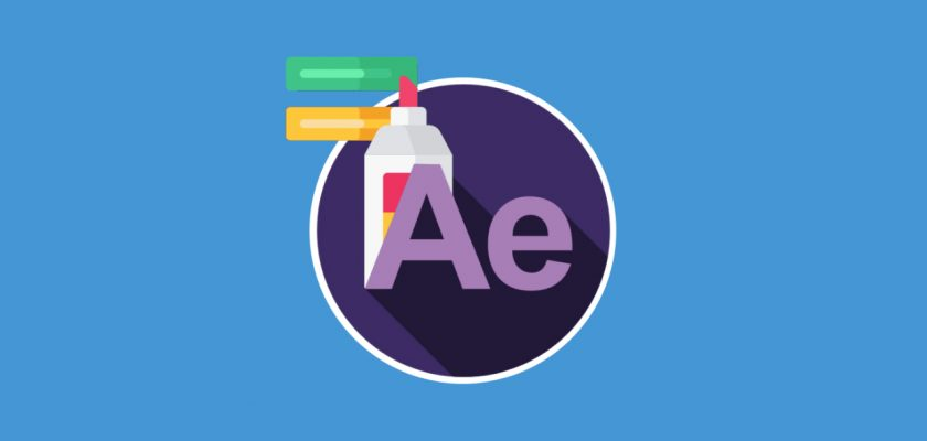 highlight text effect in After Effects