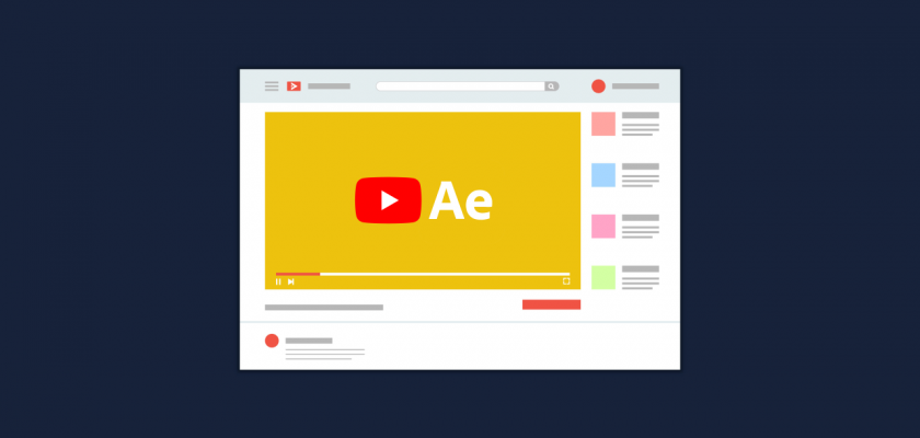 YouTube After Effects Templates