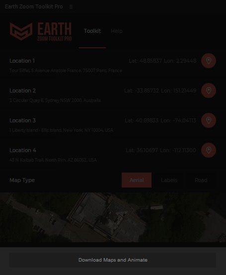 Earth Zoom Toolkit Pro