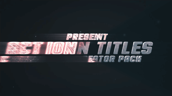 Action Titles - After Effects Intro & Title Templates