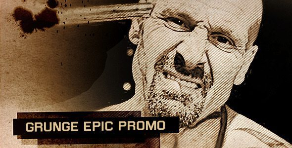 Grunge Epic Promo - After Effects Intro & Title Templates