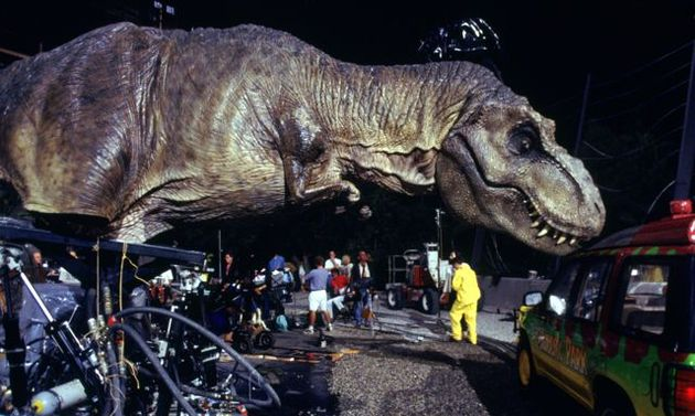 Practical Effects Jurassic Park