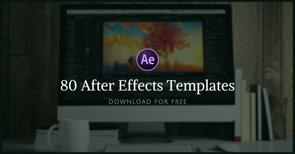 elegant portfolio free after effects template