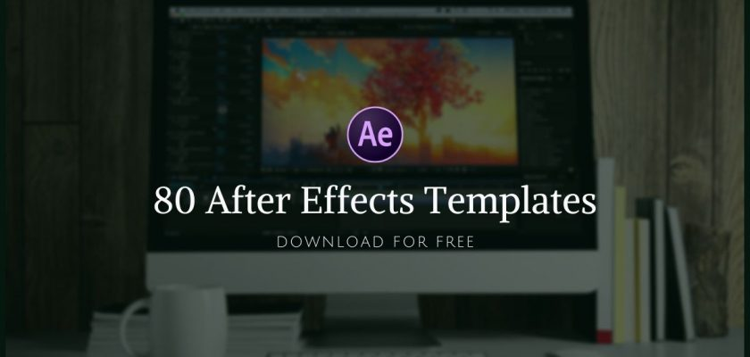 80 Free After Effects Templates