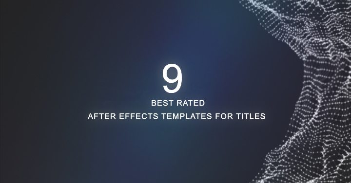 Best Rated After Effects Templates For Titles - Coming soon after effects template